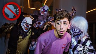 Last to SCREAM Wins $10,000 - Haunted House Challenge (PART 2)