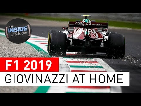Image: Watch: Antonio Giovinazzi's Italian homecoming