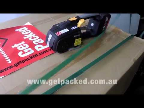 The latest Zapak Battery Operated Combination Strapping Tool Zapak 97A
