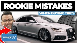 Rookie Mistakes When Buying Tires