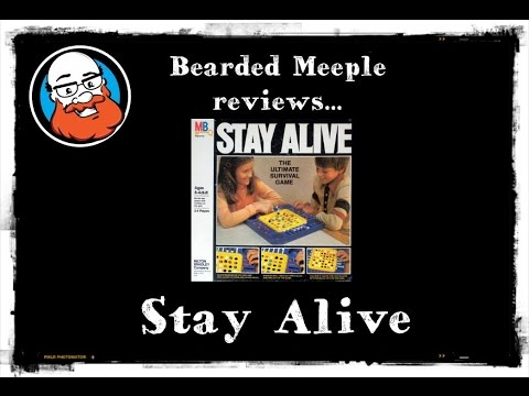 Bearded Meeple reviews Stay Alive