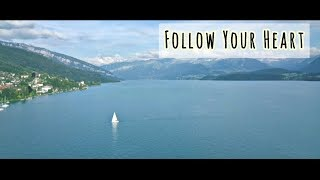 Discover Switzerland with Kirasha - Thunersee Lake Thun Berner Oberland (Video)