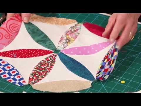 How to use the EZ Quilting Joseph's Coat template with Jennie Rayment