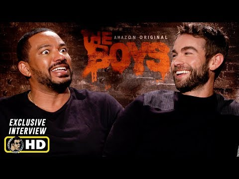 Chace Crawford & Laz Alonso Interview for Amazon Prime's The Boys!