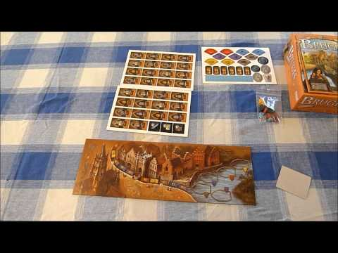 Boarding School presents an Unboxing video of 'Bruges: the City on the Zwin'