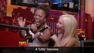 "Tonya Banks and Elena Gant From ""Little Women: LA:"" Inside Dish Nation Studios!"