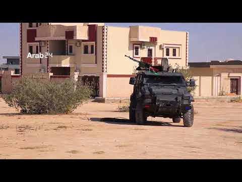 Libya |Violent Clashes Between A Number Of Brigades In Western Tripoli (Exclusive Scenes)