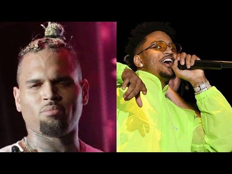 "Chris Brown & Trey Songz Performing ""Chi Chi"" At The SomethingIn The Water Festival"