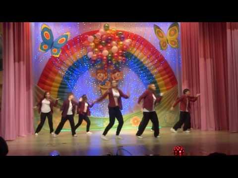 Cтарший состав Образцового танцевального коллектива