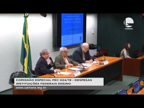 PEC 024/19 - Despesas das instituições federais de ensino - 15/10/2019 - 15:58