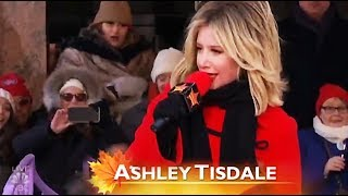 Ashley Tisdale Thanksgiving Parade 2018 Performance Live On NBC And CBS (Full HD)