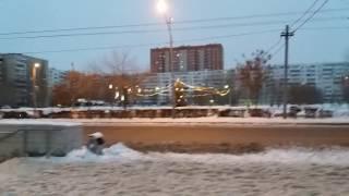 УТРЕННИЙ ГОРОД./ СТУДЕНТЫ ПОШЛИ УЧИТЬСЯ - Я ЛЕЧИТЬСЯ