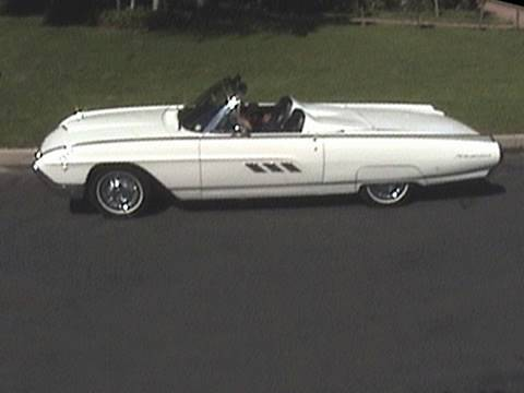 1963 Ford Thunderbird Convertible - Cool Cars, Hot Cars, Fast Cars