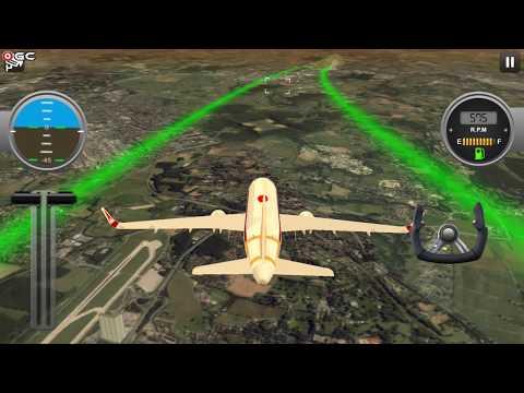 Airplane Real Flight Simulator I - игровое видео смотреть