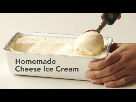 Homemade Cheese Ice Cream Recipe | Yummy Ph