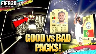 FIFA 20 GOOD vs BAD PACKS! HOW TO TELL IF ITS A WALKOUT!
