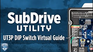 SubDrive Utility UT3P DIP Switch Virtual Guide
