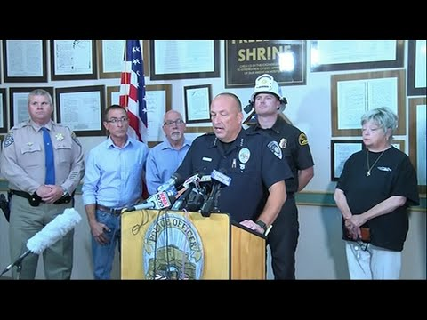 A strong earthquake rattled a large swath of Southern California  on Thursday, rattling nerves and causing some damage in a town near the epicenter, followed by a swarm of aftershocks including one during a news conference. (July 4)