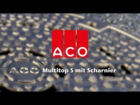 ACO Schachtabdeckung Multitop S System Bituplan