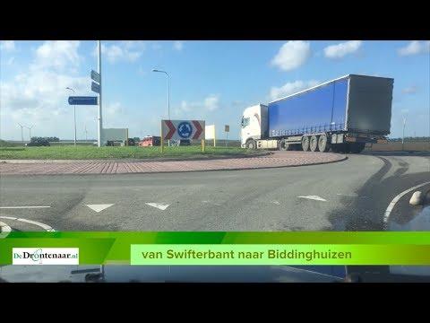 Provincie houdt in Dronten inloopavond over werkzaamheden aan de Biddingweg