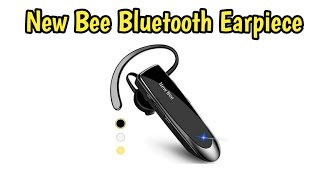 New Bee Bluetooth Earpiece V5.0 Unboxing and Demo