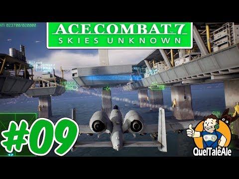 ABBATTI QUEL GIGANTE | Ace Combat 7 - Skies Unknown - Gameplay ITA #09 [MIS.11-12]
