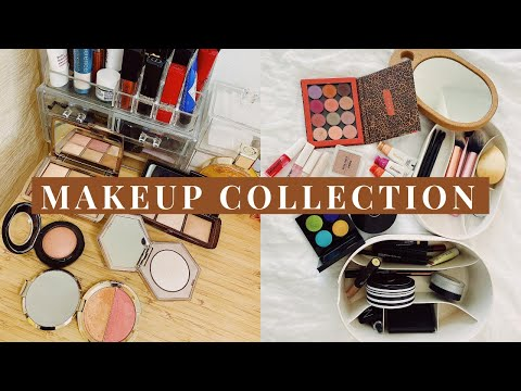 彩妆收纳&刷具分享 Makeup Organization & Vanity Tour