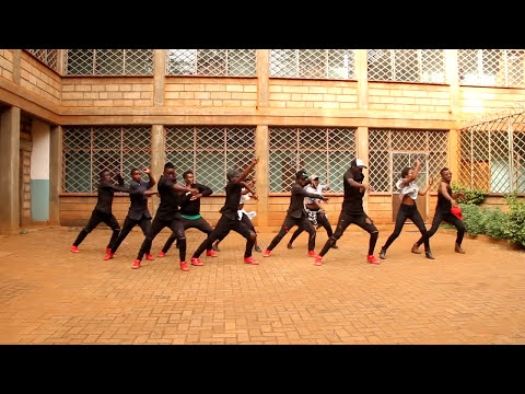 HOT KENYAN DANCE MOVES  CHALLENGE - SKYSCRAPERS