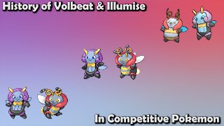 How GOOD were Volbeat & Illumise ACTUALLY? - History of Volbeat & Illumise in Competitive Pokemon