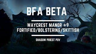 BFA Beta - Atal'Dazar +16 in time I Naowh - Unholy DK PoV