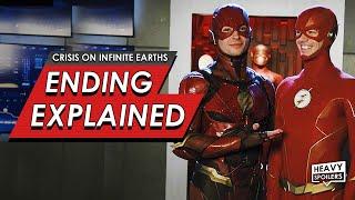 Crisis On Infinite Earths: Episode 4 & 5 Breakdown + Ending Explained | DC & Ezra Miller Flash Cameo