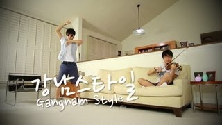 PSY - GANGNAM STYLE (강남스타일) - Jun Sung Ahn Dance & Violin Cover