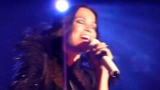 """Tarja Turunen in Warsaw """"Tired of Being Alone"""" + speech 16.01.2012 HD"""
