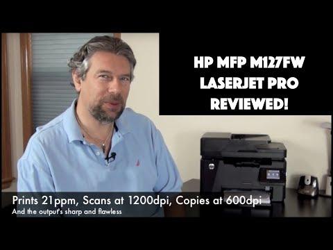 HP MFP M127fw Multifunction Laserjet Pro Printer Review