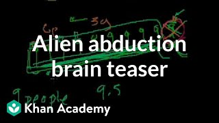 Alien Abduction Brain Teaser