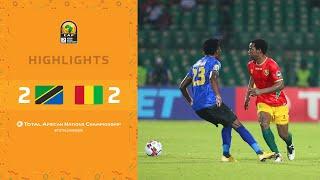 CHAN 2020 | 1er tour – Groupe D : Tanzanie 2-2 Guinée