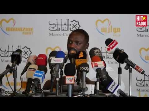 Conférence de presse avec Akon à Mawazine 2015 sur HIT RADIO