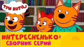 Три кота | Ммм, интересненько 👀 | Сборник серий от СТС Kids