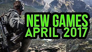 New games upcoming in April 2017