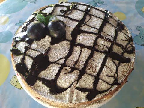 Простой пирог со сливами./Очень вкусный/