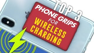 TOP 3 Phone Grips For Wireless Charging | Review
