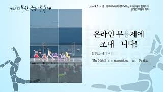 제16회 BIDF 부산국제무용제(Busan International Dance Festival)