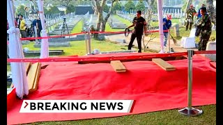 Pusara Ani Yudhoyono Di TMP Kalibata Telah Selesai Dipersiapkan