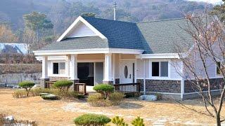 4K 이천 산내리 전원주택 골드홈 GH-30 포치5 목조주택 입니다