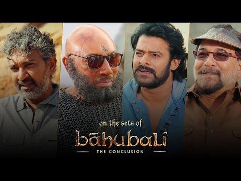 Baahubali 2 | On The Sets | SS Rajamouli, Prabhas, Sathyaraj, Sabu Cyril