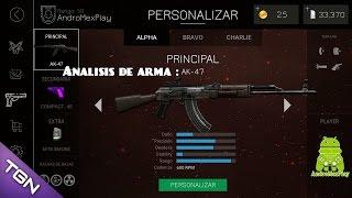 Bullet Force Análisis De Arma AK47 HD 60 Fps