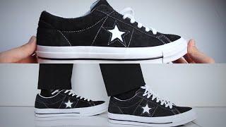 one star converse black - मुफ्त ऑनलाइन वीडियो ... 98c1c9352