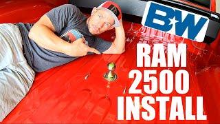 Gooseneck Hitch Install Ram 2500