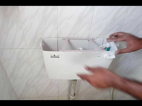 How to install toilet cistern (part -2)