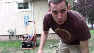 How to run your house on generator.